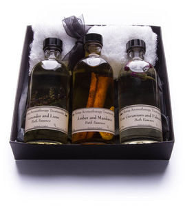 Aromatherapy Bath Essence Pack - gift sets