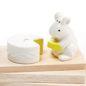 Mouse Gets The Cheese Salt And Pepper Set - home sale