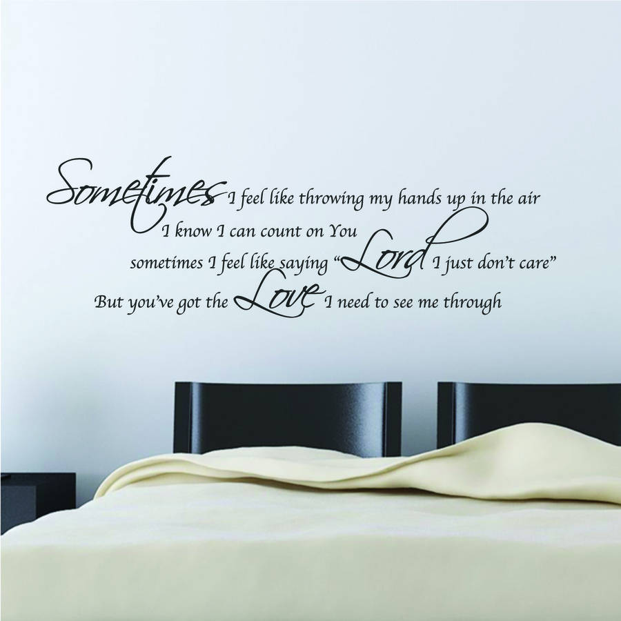 Me to you wall stickers home design youu0027ve got the love wall stickers amipublicfo Images