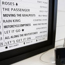 Personalised Top 20 Favourite Tracks Print