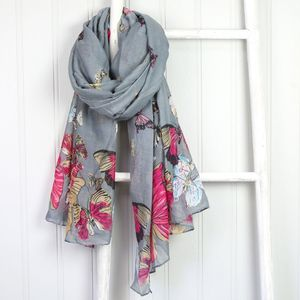 Butterfly Scarf - gifts for her