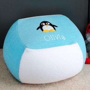 Penguin Personalised Beanbag