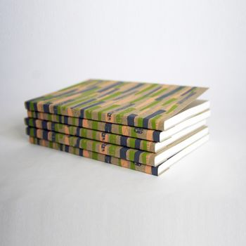 Hand Printed Pattern Notebook