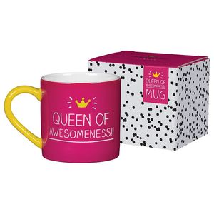 Queen Of Awesomeness Mug In A Gift Box - mugs