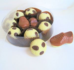 Belgian Chocolate Football Mixture