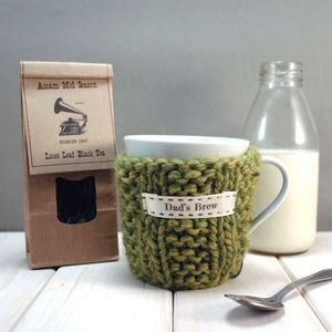 Tea And Personalised Mug Gift Set - teas, coffees & infusions