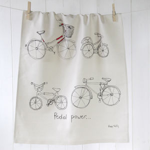 Tea Towel Bicycle - kitchen