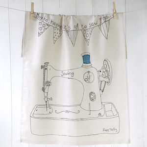 Tea Towel Sewing Machine - kitchen accessories