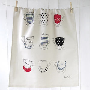 Tea Towel Cups