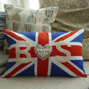 Union Jack Special Date Cushion