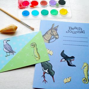 Beach Journal Activity Notebook