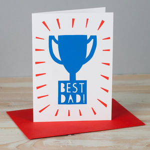 'Best Dad' Card