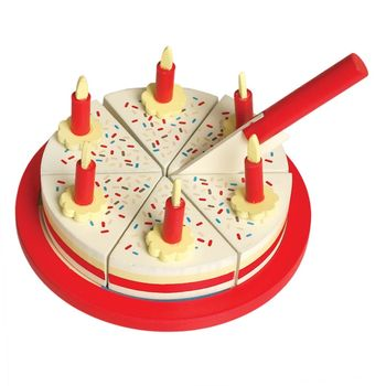 Wooden Birthday Cake Toy With Accessories