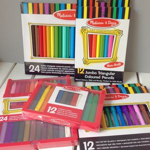 Colouring Felt Tips, Crayons And Pencils - stationery