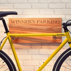 Personalised Bike Rack - gifts for cyclists