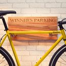 Personalised Bike Rack