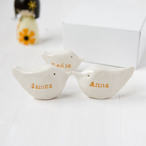 Personalised Family Gift Birds
