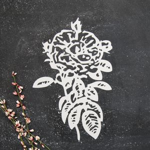 Rose Decal - bedroom