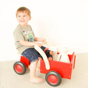 Ride On Wooden Truck - traditional toys & games