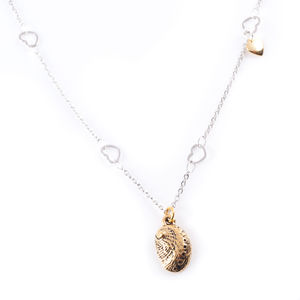 Cowry Shell Necklace Gold