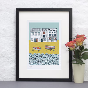 Life By The Sea Print - home accessories