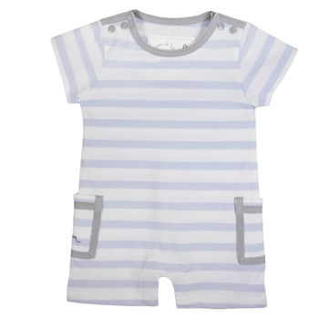 French Design Nautical Organic Cotton Romper