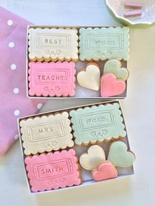 Best Female Teacher Cookie Gift Set
