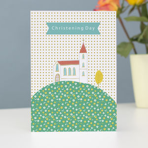 Christening Day Greetings Card