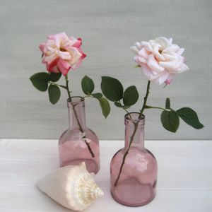 Forever Silk Scented Rose In Vintage Style Bottle