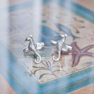 Sea Horse Cuff Links - mens