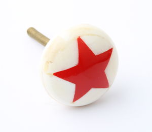 Inlaid Star Drawer Knob