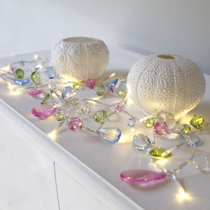 Pastel Crystal Light Garland - party & fairy lights
