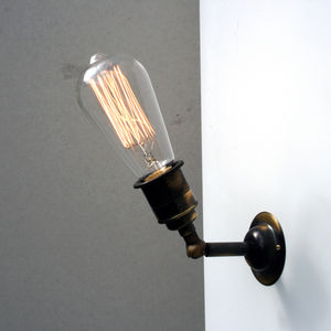Vintage Style Industrial Wall And Ceiling Light - bedside lamps