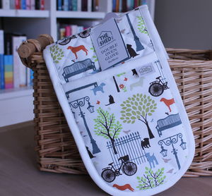 Days In The Park Oven Gloves - kitchen accessories