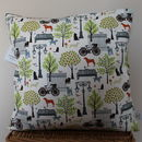 Days In The Park 40 X 40 Cushion
