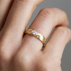 Artemis Ethical Fairtrade Diamond Engagement Ring - unusual engagement rings