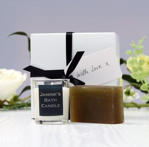 Personalised Pamper Gift Box - bath & body