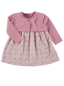 Baby Josefine Newborn Dress In Orchid - clothing