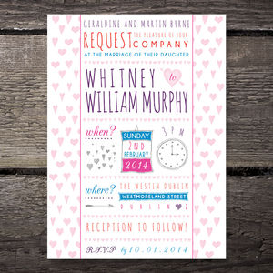 Bash Wedding Invitation