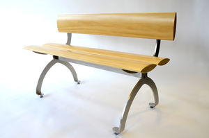 Stainless Steel Bench - furniture