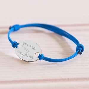 Lover's Personalised Oval Plate Bracelet - bracelets