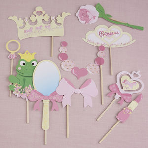 Princess Photo Booth Party Props - children's parties