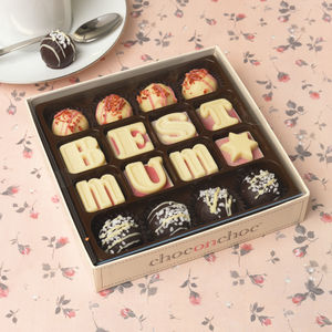 Best Mum Handmade Chocolates And Truffle's Box - for mothers