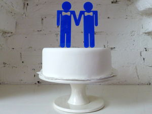 The Grooms Cake Topper
