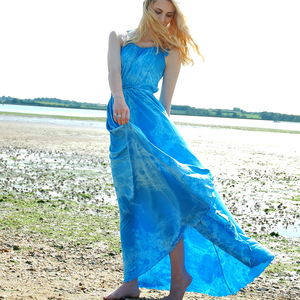 Blue Sky Gown - summer clothing