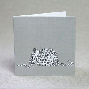 Mouse Love Valentine's Day Card