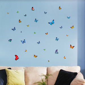 Summer Butterfly Wall Stickers