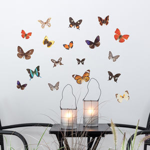 Autumn Butterfly Wall Stickers