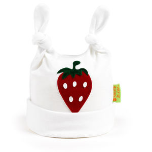 Strawberry Baby Hat - children's accessories