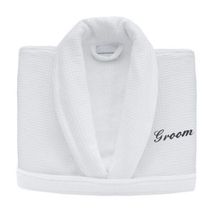 Personalised Wedding Bridegroom Bath Robes From - bed, bath & table linen